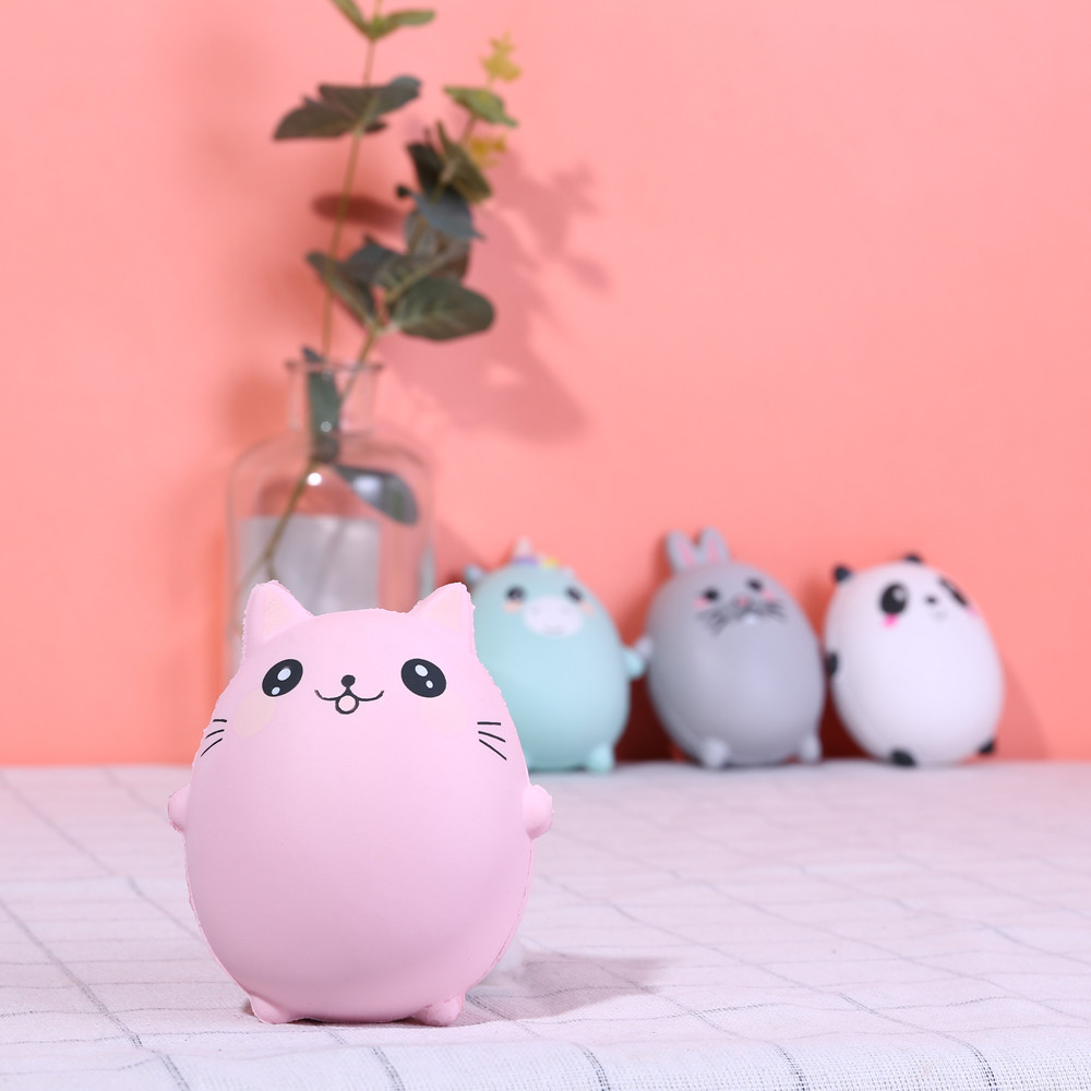Cute Squishy Toys Squishies Adorable Animals Cream Squeeze Scented Slow Rising Stress Relief Toys Children Baby Girl Boy Toys