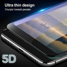 5D закаленное Стекло для Xiaomi Redmi Note 5 4 глобальных 5 плюс Экран протектор фильм для Xiaomi MiA1 8 SE 6X 5X полное покрытие защитной