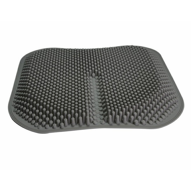 New Car Seat Cushion Silicone Massage Cushion 3D Breathable Office Seat Cool Pad Black/Red/Orange/Blur/Pink Seat Cushion Part