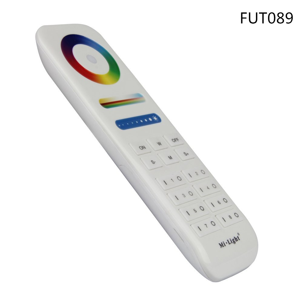 Mi.Light 2.4G 8-Zone 16Million colors RGB CCT Led Wireless Remote <font><b>Controller</b></font> FUT089 For Milight <font><b>LS2</b></font>,LED strip,led controler bulb image