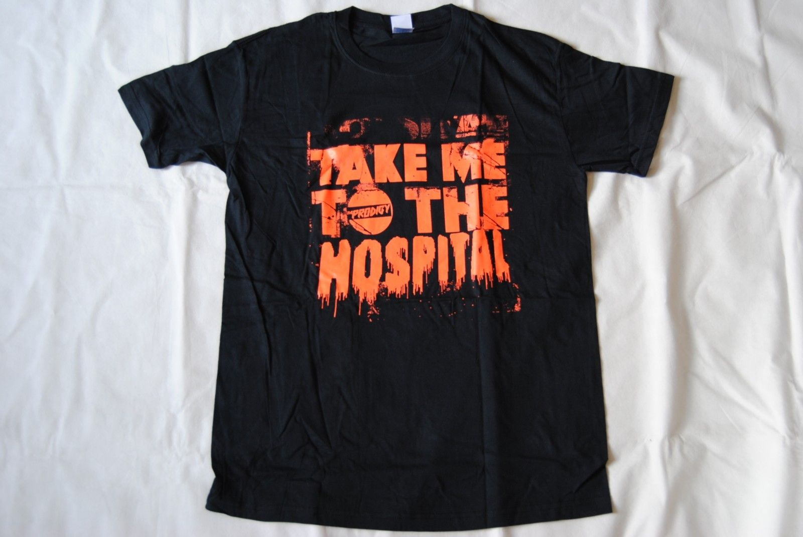 US $11 93 15% OFF|THE PRODIGY TAKE ME TO THE HOSPITAL T SHIRT NEW OFFICIAL  FIRESTARTER BREATHE-in T-Shirts from Men's Clothing on Aliexpress com |