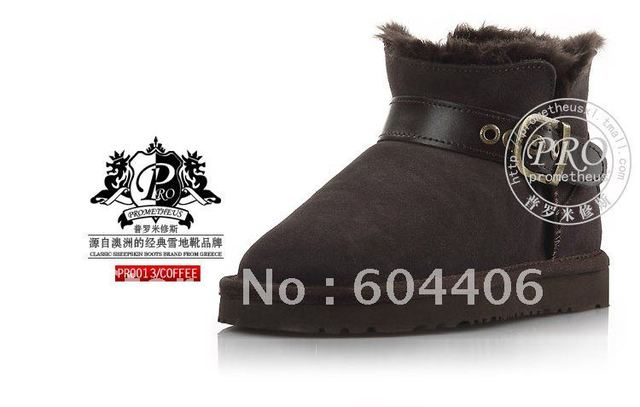 fashion female snow boots for warm