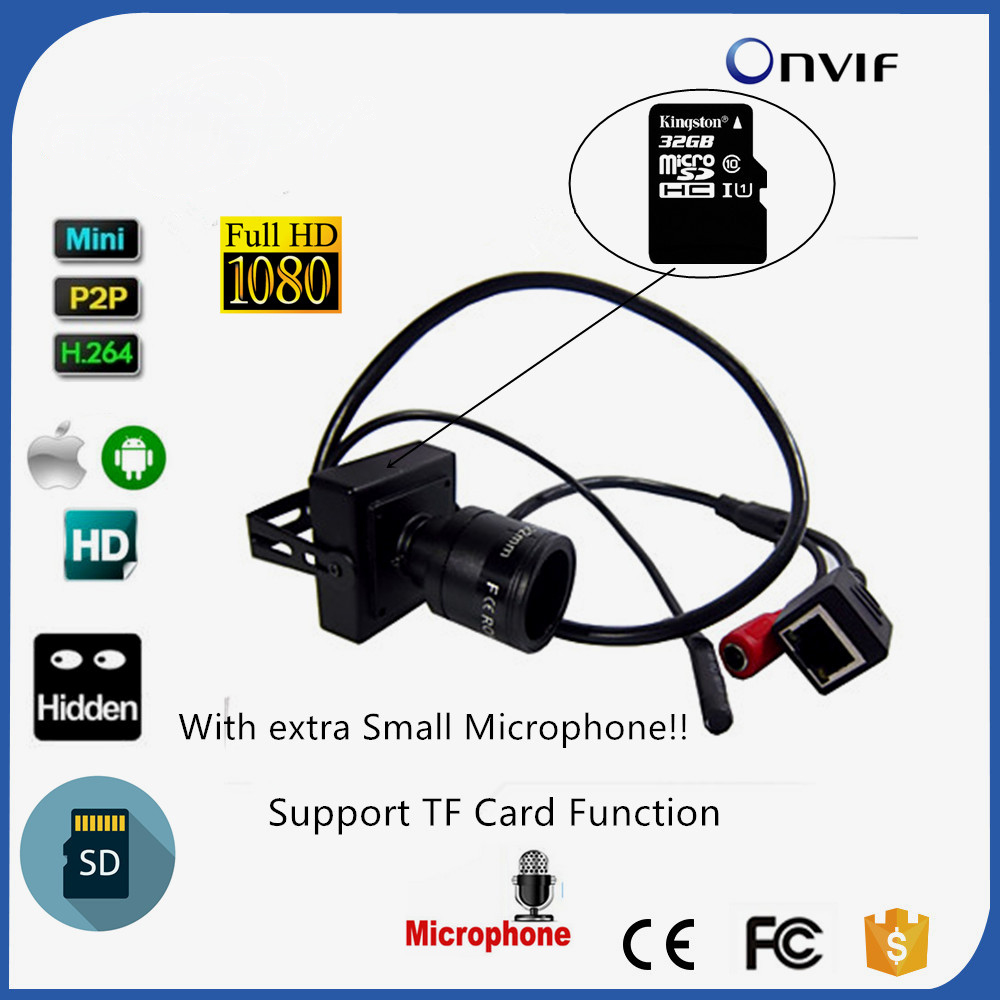 Small CAMHI P2P Onvif TF Card Slot Audio Home Security SD Card Mini Network IP Camera 1080P 9-22mm Varifocal Lens mini size camhi p2p onvif tf card slot audio home security 1 3mp 960p sd card mini ip camera 9 22mm varifocal lens cam
