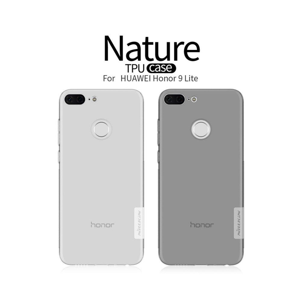 <font><b>Nillkin</b></font> For Huawei <font><b>Honor</b></font> <font><b>9</b></font> <font><b>Lite</b></font> cases Transparent Clear Soft silicon TPU Protector case cover For <font><b>Honor</b></font> <font><b>9</b></font> <font><b>Lite</b></font> mobile phone bags image