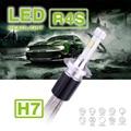 1 Conjunto R4S H7 90 W 10400LM LED Farol Auto 12/24 V Super fino Kit Nevoeiro Driving Farol Lâmpada 45 W 5200LM Substituir HID Xenon halogênio