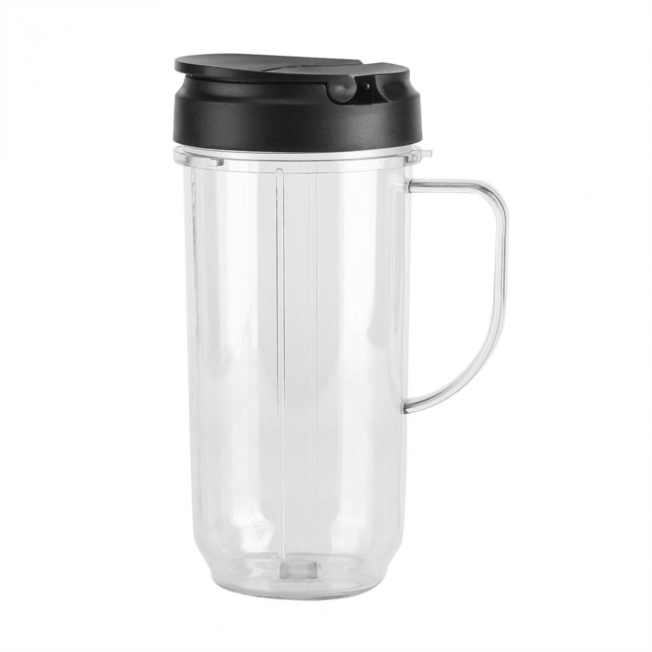 Original Juicer Lemon vegetables fruit Replacement Parts Lid/Cup Mug With Handle Accessories for NINJA 250W Series top sale stainless steel mug automatic stirring mug automatic stirring 350ml with lid handle button design keep warm green