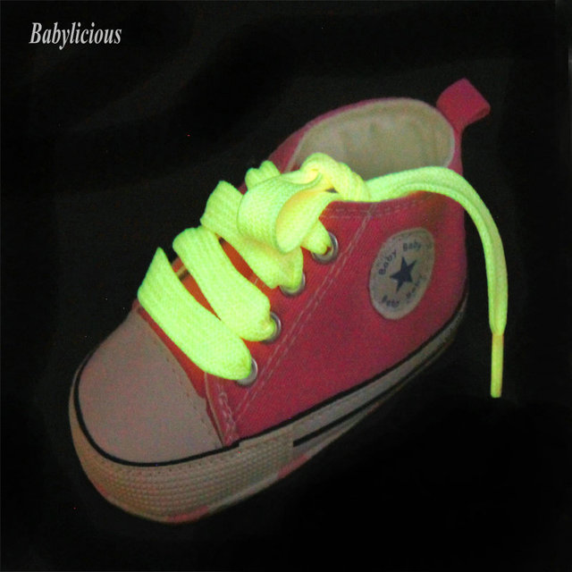 New fluorescent baby shoes soft sole toddler shoes fashion bebe first walkers chaussure fille free shipping & drop shipping