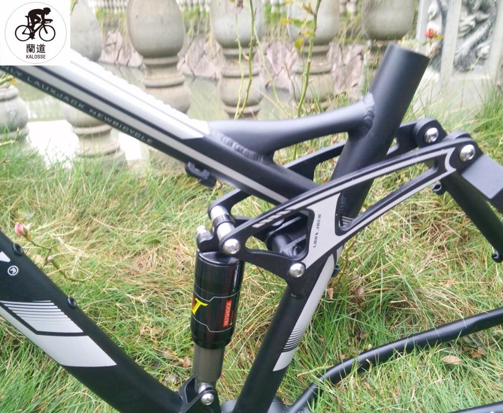 Kalosse Bicyle bike mountainbike teile Full suspension bike rahmen ...