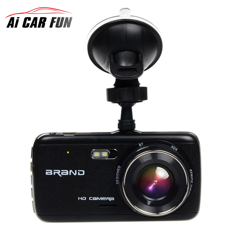 4 0 Car DVR font b Camera b font Dual Lens With LDWS ADAS Rear View