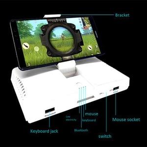 Image 3 - Powkiddy Bluetooth Battledock конвертер подставка Зарядка Док для FPS игр, с помощью клавиатуры и мыши, игровой контроллер,