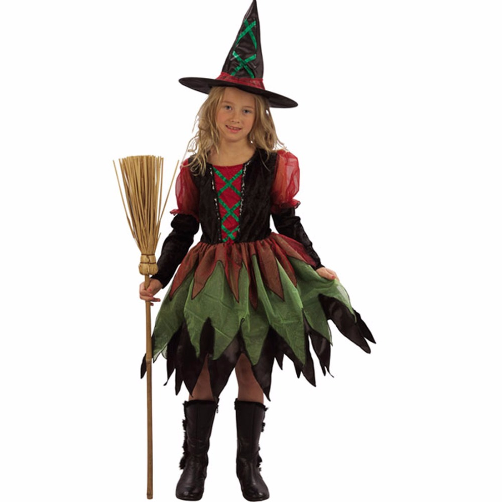 Little witch cosplay costume naughty baby girl party for Halloween costume ideas for kids girls