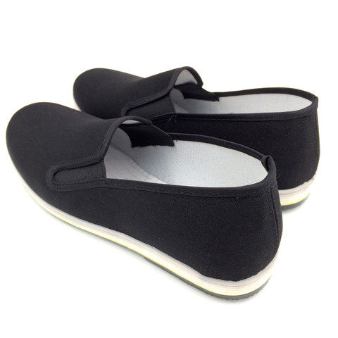 Men Canvas Shoes Loafers Man Sneakers Casual Shoes Black Flat Slip On Summer Canvas Shoes Mocassin Homme Espadrilles Size 35-45 Multan