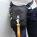 Alta Calidad A Prueba de agua Oxford Cintura del Paquete de Fanny Hip Cinturón Bolsas de Pierna Motocicleta Piloto Militar Viajes Pequeña Bolsa de Hombro Mensajero