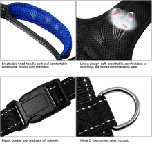 Pitbull Harness With Handle – S M L For Medium Large