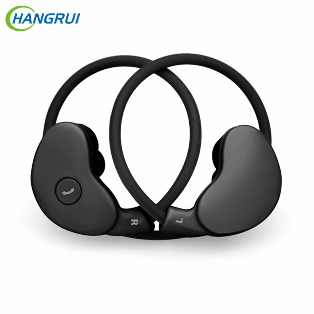 Hangrui New Bluetooth Earphone In-ear Wireless Handsfree Earphone Stereo fone de ouvido sem fio With Mic V4.1 For Smart Phone remax bluetooth v4 1 wireless stereo foldable handsfree music earphone for iphone 7 8 samsung galaxy rb 200hb
