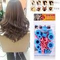 Bolas Sólidas DIY Kit de Herramientas de Cuidado del cabello Tratamiento Suave Bigudíes de Los Rodillos De Plástico Clips