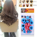 Hair Care Solid Balls DIY Tool Kit Treatment Soft Plastic Curlers Rollers Clips