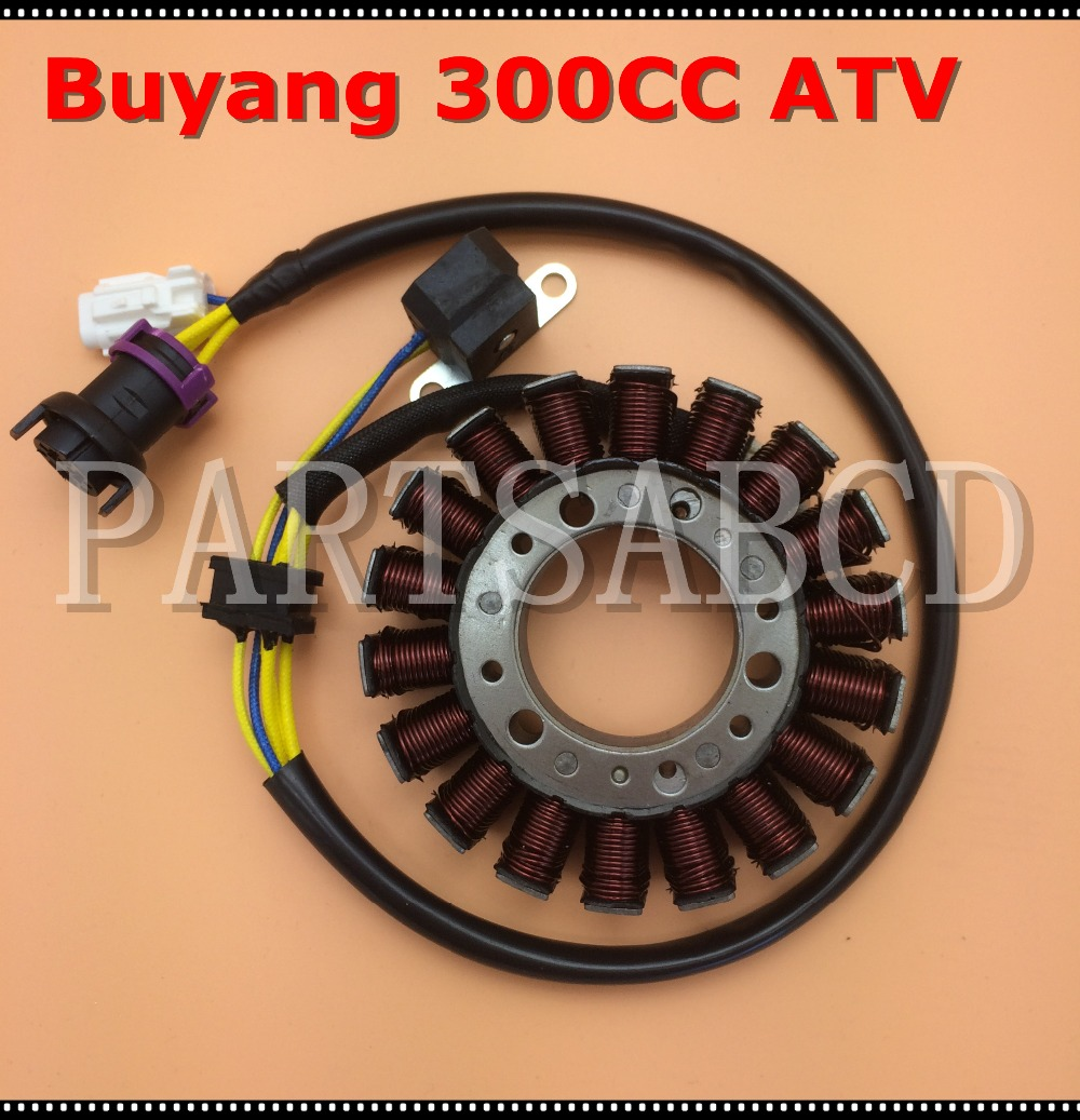 Buyang Feishen 300cc Atv Quad Water Proof Stator Assy 2 1