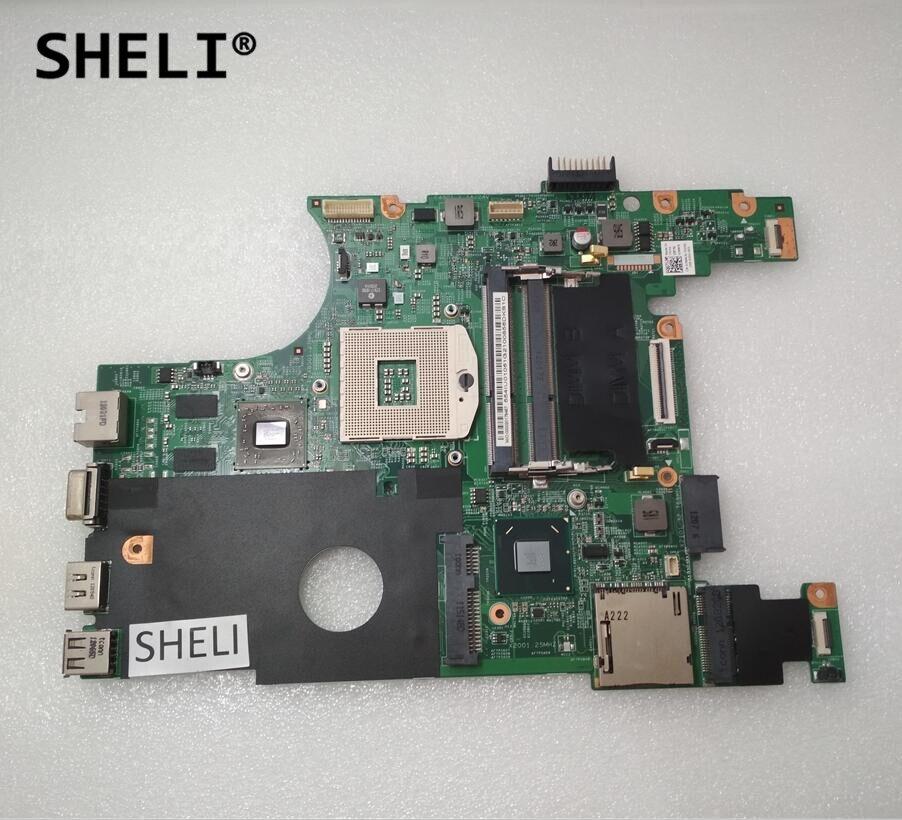 SHELI Für Dell 14R N4050 Motherboard HM67 CN-07NMC8 07NMC8 7NMC8 1X1HJ CN-01X1HJ