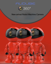 Maxde New Wireless Red Robot WIFI IP Camera 960P P2P CCTV Cam Baby Monitor Surveillance Camera HD H.264  Lens IR for Android iOS