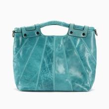 2016 Fashion New Brand Designer Women Casual Tote Bags Cow Genuine Leather Handbag Shoulder Bag Solid Bigs Capacity Female Bags
