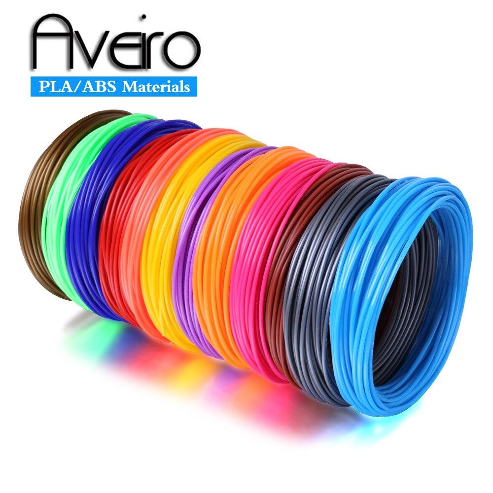 20 Color Or 10 Color Or 5 Color/Set 3D Pen Filament ABS/PLA 1.75mm Plastic Rubber Printing Material For 3D Printer Pen Filament