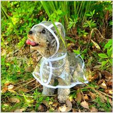 HOT AilusPet Waterproof Teddy Dog Clothes Transparent Poodle Doggy Raincoats For Toy Dogs Pet Raincoat Suitable In All Seasons