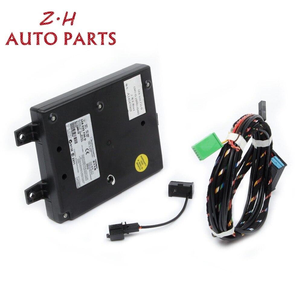 Nouveau 9W2 Module Bluetooth + Bluetooth Harnais + Micro Pour VW Golf Jetta MK5 MK6 Passat B6 B7 Touran Eos scirocco RCD510 RNS510