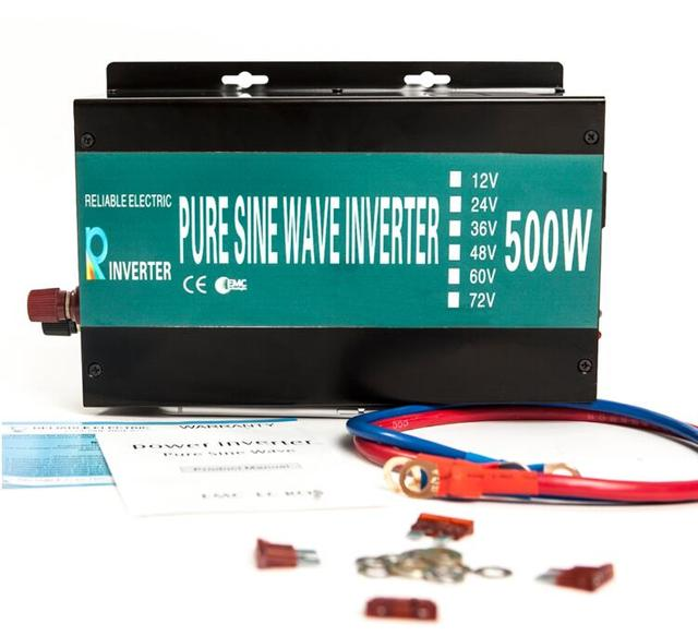 500w, 50HZ/60HZ, 12V/24V/48V/110V-110V/120V/220V/230V/240V DC/AC Converter LED Display Pure Sine Wave Solar/Car Power Inverter