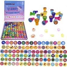 6/10/12Pcs Stempels Set Leuke Cartoon Voor Scrapbooking Educatief Tekening Kleurrijke Speelgoed Voor Kid kerst Verjaardagscadeau
