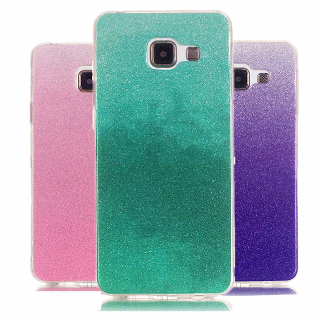 best website 5520a 6dd6f US $2.69 |Diamond Glitter Case for coque Samsung A5(6) Case Silicon Cover  Case for coque Samsung Galaxy A5 2016 Case Soft Cover A510 A510F-in Fitted  ...