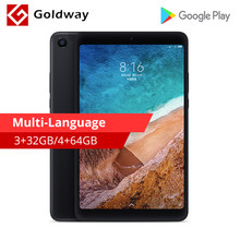 Original Xiaomi Mi Pad 4 32GB/64GB Tablets 4 Snapdragon 660 AIE CPU Tablet 8.0'' 16:10 Screen 13MP Bluetooth 5.0 6000mAh Battery(Hong Kong,China)