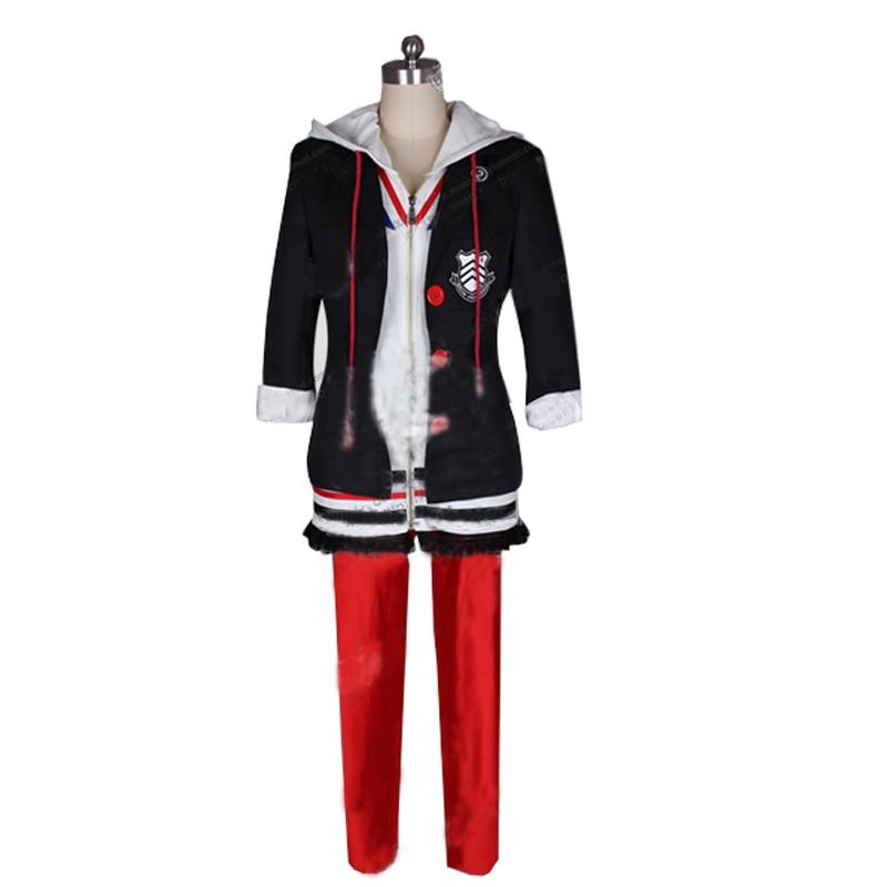 2017 Persona 5 Anne Takamaki Cosplay Costumes School Uniform Full Set