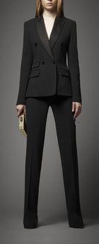 b551353af0a Trajes de pantalón para mujer nuevo traje de negocios a medida chaqueta de  oficina y pantalones
