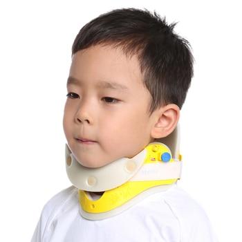 Adjustedable child collar nursing torticollis support crooked migraine braces neck posture sleeve