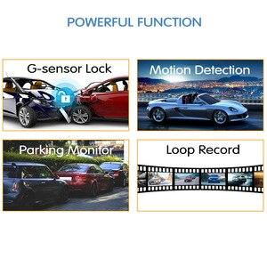 Image 4 - E ACE Auto Dvr Dash Cam 4,3 Zoll Touch FHD 1080P Rückspiegel Video Recorder Dual Objektiv Auto Registrator Mit rückansicht Kamera