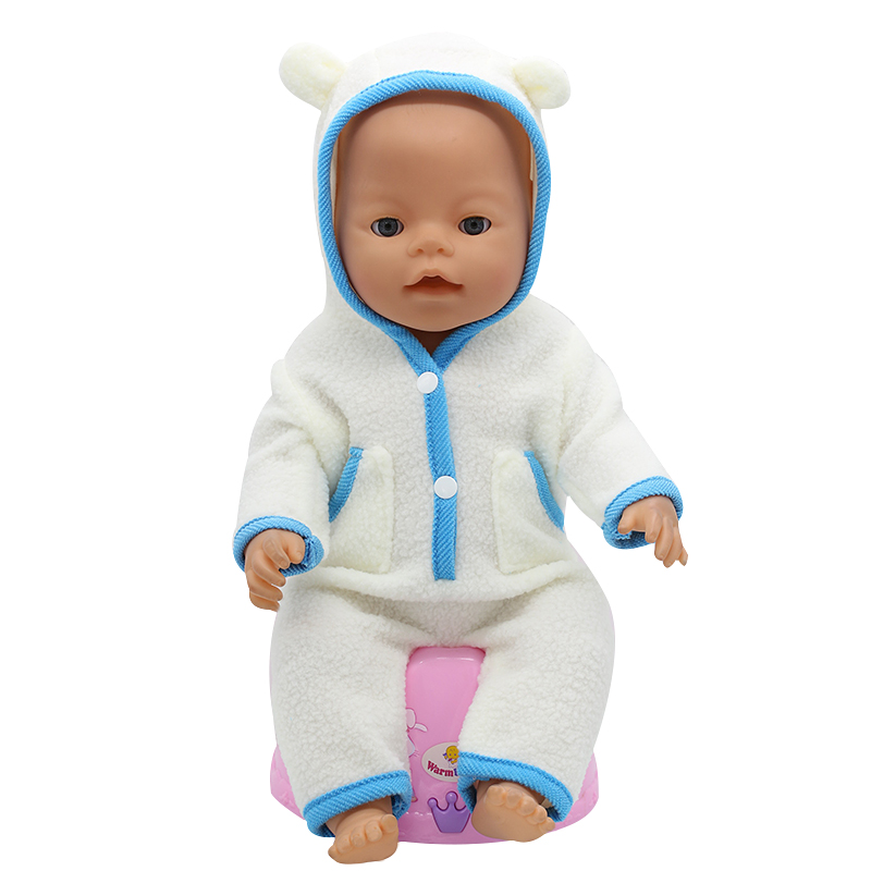 Baby-Born-Doll-Clothes-Fit-43cm-Zapf-Baby-Born-Doll-Cute-Jackets-and-Jumpers-Rompers-Doll-Clothes-Children-Birthday-Gifts-T-6-2