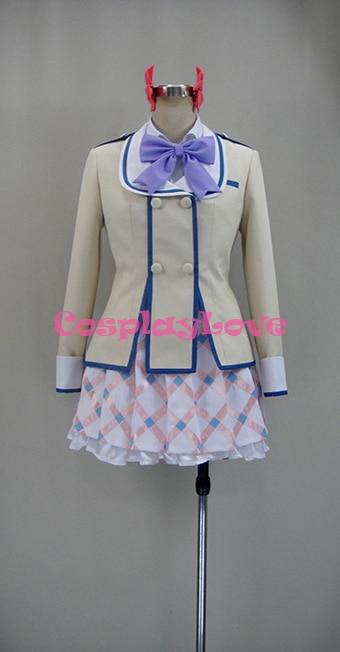 If Her Flag Breaks Megumu Tozokuyama Uniform COS Clothing Cosplay Costume