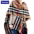 Women's Winter Poncho Vintage Blanket Women Lady Knitted Shawl Cape Cashmere Scarf Cardigan Oversized Knit Ukraine Street Style