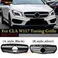 Für Mercedes CLA W117 C117 X117 Kühlergrill Grill Grills ABS Gloss Schwarz Für AMG Stil CLA180 CLA200 Direkt 1:1 ersatz 14 -in Rennauto-Kühlergrill aus Kraftfahrzeuge und Motorräder bei