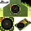 """Hunting 8"""" Reactive Splatter Self Adhesive target stickers Fluorescent Yellow shooting Practice stickers for Airsoft Gun Rifle"""