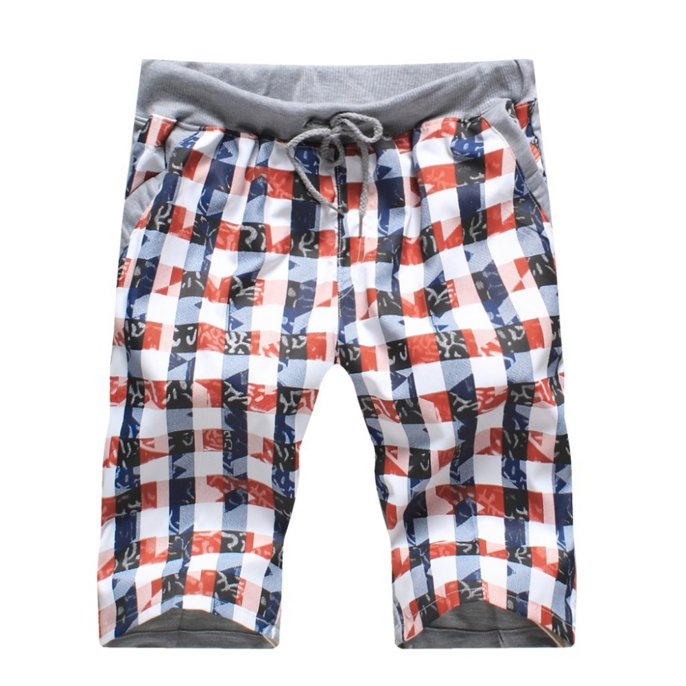 Online Shop In 2014 the men's printed SHORTS MEN beach casual five ...