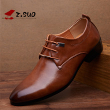 2017 New Men Business Shoes Man Luxury Leather Shoes Men'S Flat Oxfords Casual Shoe Black/Brown Footwear Male Shoes