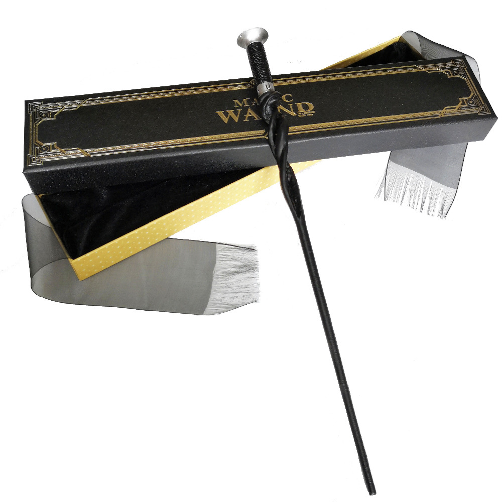Newest Colsplay Ribbon Packing Metal HP Crimes of Grindelwald Nicolas Flamel Dumbledor Theseus Scamander Magical Wand