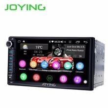 JOYING 2 din автомобильное радио HD 7 »сенсорный экран 8 core 4 Гб ram Android 8,1 автомобильный стерео головное устройство FM AM RDS gps плеер с carplay DSP