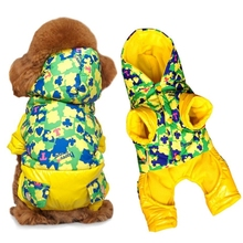 Clearance XL Ski Jumpsuit dog Clothing clothes Overalls for Dogs Warm Winter  jacket Poker puppy coat teddy hooded