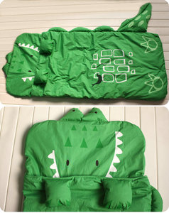 Image 4 - Dessin animé Animal modélisation coton bébé sac de couchage hiver enfant en bas âge fille garçon enfant/enfants chaud sacs de sommeil, taille: 130*105cm,1 4 Yea