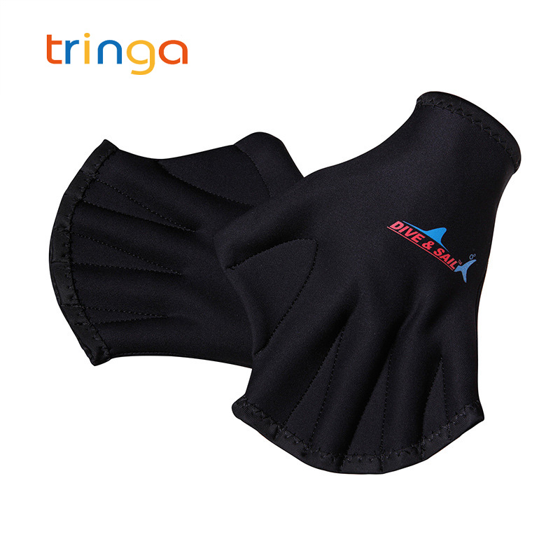 New Adult Diving Gloves Swimming Gloves Flippers Webbed Dive Glove Dive Equipment Swim Accessories Drop Shipping