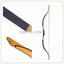 Horsebow Archery Traditional hunting Longbow 20-60LBS Pigskin Recurve bow+ String  T6