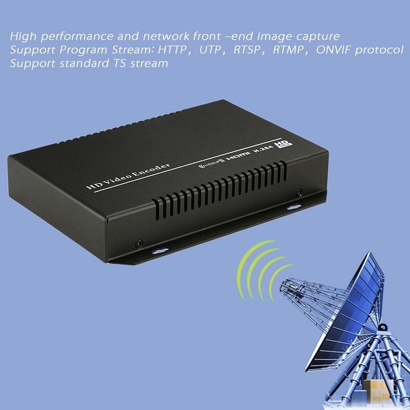 H.264 IPTV Encoder HDMI Video Encoder HDMI Encoder, Live Stream - სახლის აუდიო და ვიდეო - ფოტო 4